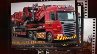 Tom Prichard Contractors- Easy Transport Services | Construction Contractors UK - Video