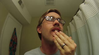 Guy Shows How He Grew A Beard In Thirty Seconds - Video