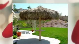 7', 9', 10', 11', 12', 13', 14', 15' ft Palapa Umbrella Cover Company - Video