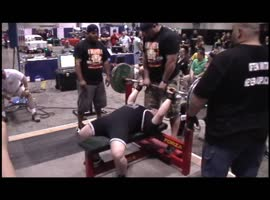 Darian Barnett 551 lb. APF Deadlift Record - Video