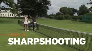 Speed vs Instinct - Djokovic vs Sharapova - The Challenge - Video