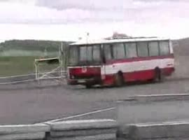 So this should be an ordinary crash test bus