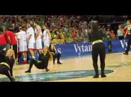 Lithuania cheerleaders - Video