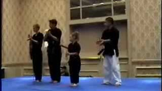 Crazy ninja girl - Video