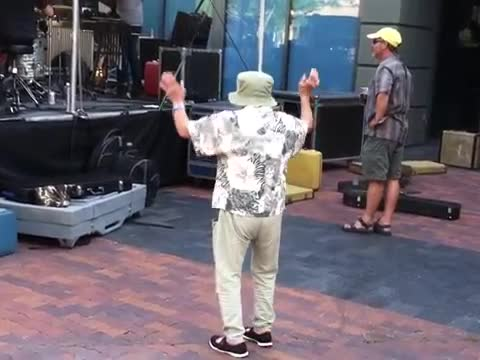 83-Year-Old Grandma Dances at a Rock Concert in Seattle