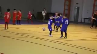 How to enjoy the kids after scored goal. - Video
