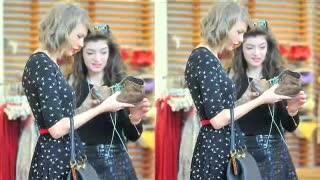 BFF Taylor Swift And Lorde Go On Shopping Spree-Hot Or Not- - Video