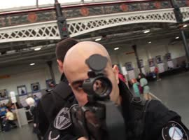Winter London Film & Comic Con - Oct 2013 -  ESCAPADE Cosplay Music Video - Video