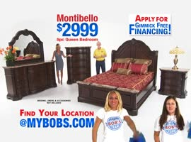 Bobs furniture for your home furnishing needs - Video