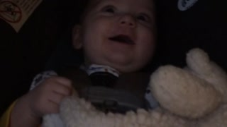 Baby Thinks Dad's Sneezing Is Funny - Video