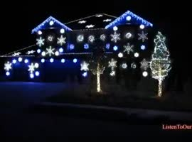 Gangum Style Xmas Lights Must See - Video