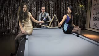 Venom Trickshots II- Episode V: Sexy Pool Trick Shots in China (HD) - Video