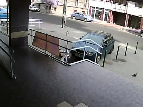 Bank robbery  in Hungary