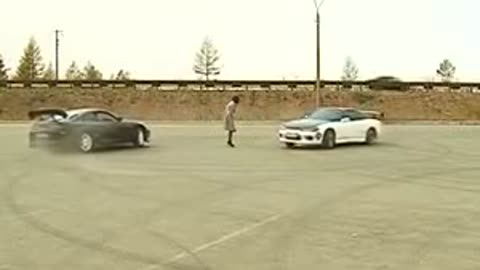 See what happens when two fools think they are Masters of Drift!