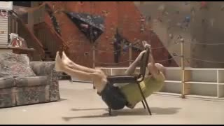 Exercises with a chair - Video