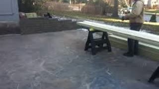 Stained Concrete Kansas City http://www.bigreddecorativeconcrete.com - Video