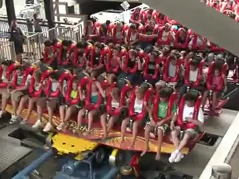 awesome crazy rollercoaster