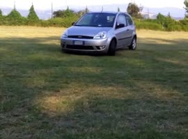 My first drift 21_07_2013 Ford Fiesta - Video