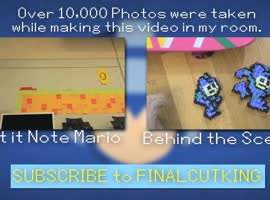 Mega Man in 10,000 Photos! - Video