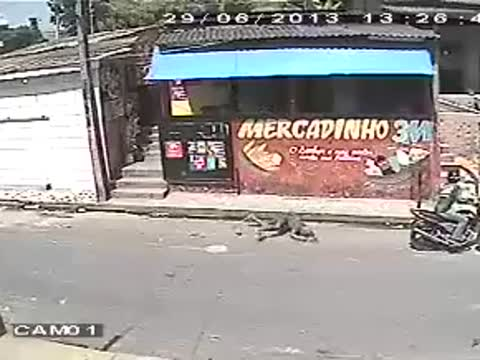 Failed Robbery Attempt
