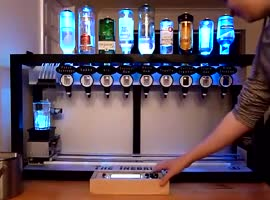 machine for cocktails - Video