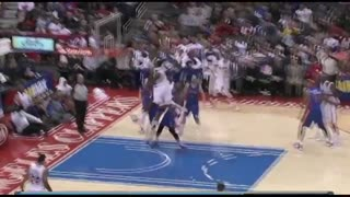 NBA Basketball Amazing Slam Dunk - Video