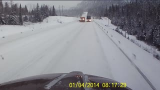 The Scream Of Fear From a Trucker - Video