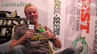 Paradise Seeds @ Cannafest Incheba Expo - Video