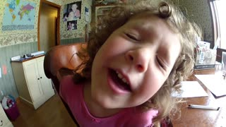 Loving Daughter Sings 'You Are So Beautiful' To Dad - Video