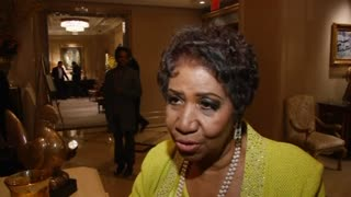 Aretha Franklin Celebrates Her 72nd Birthday In New York - Video