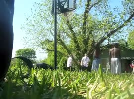 Mormon Missionaries Own Basketball Game - Video