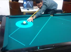 school pool table - Video