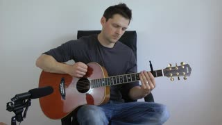 Acoustic Fingerstyle Cover of 'Get Lucky' - Video