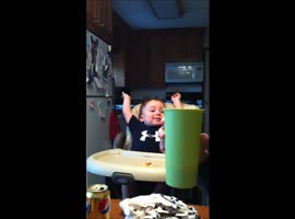 Adorable Baby Laugh Fail! - Video