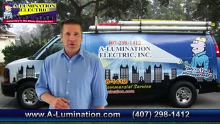 Orlando Electrician | A-Lumination Electric | 407-298-1412 - Video