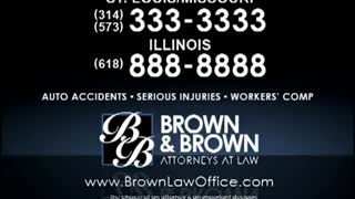 St. Louis Personal Injury Lawyers MO - Brown & Brown - Video