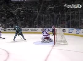 NHL Rookie Tomas Hertl Scores Amazing Goal - Video