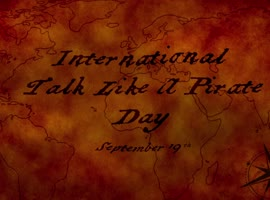 ESCAPADE: International Talk Like a Pirate Day (HOW TO BE A PIRATE) - Video