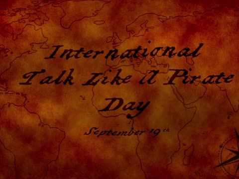 ESCAPADE: International Talk Like a Pirate Day (HOW TO BE A PIRATE)