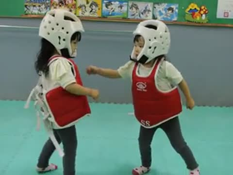 Tae Kwon Toddlers