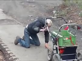 Lol ... Drunk Russian controlled buggy! - Video
