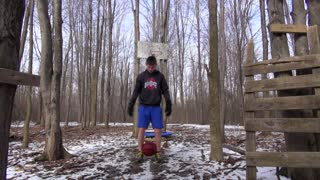 Back Handspring Basketball Trick Shot - Video