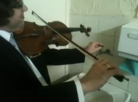 Triple concerto from a faucet