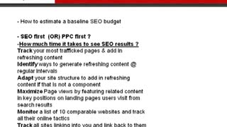 Introduction to Search Engine Optimization - Video