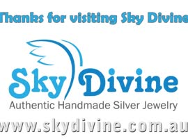 Buy australian handmade Silver Bracelet - Video