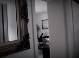 Paranormal Activities And A Ghost Figure In The Mirror - Video