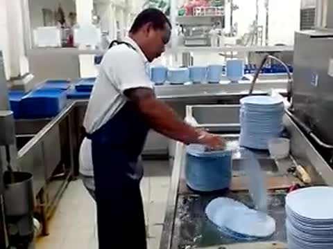 Fastest Dish Washer on Earth?