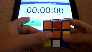 Rubix Cube 1 Minute! - Video