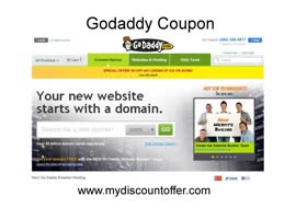 Godaddy Coupon Code 2014 - Video
