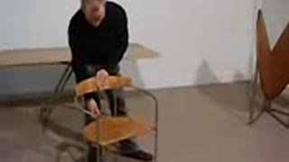 Folding Table And Chairs - Video